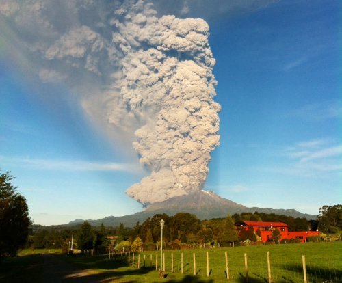 Chilean volcano could erupt a third time
