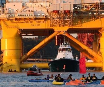 Shell still on arctic hot seat, advocacy group says
