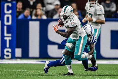 Miami Dolphins RB Frank Gore (foot) out for season