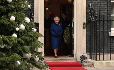Queen hospitalized with stomach bug