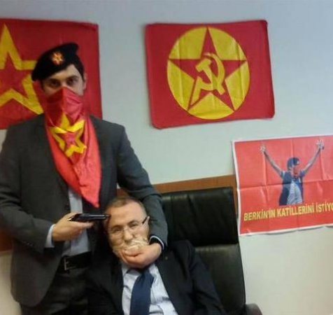 Turkish prosecutor investigating sensitive death taken hostage