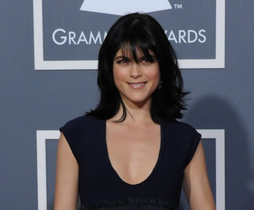 Actress Selma Blair removed from flight on stretcher after 'outburst'