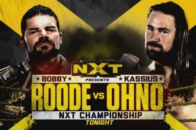 WWE NXT: Bobby Roode defends title against Kassius Ohno