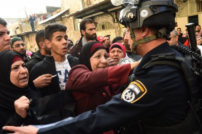 4 Palestinians killed, Israeli officer stabbed in protests