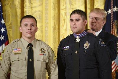 Watch live: Trump hosts Medal of Valor ceremony