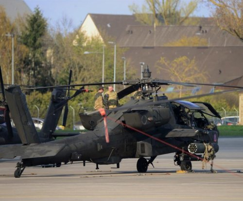 U.K. to receive Apache helicopter hardware from Lockheed
