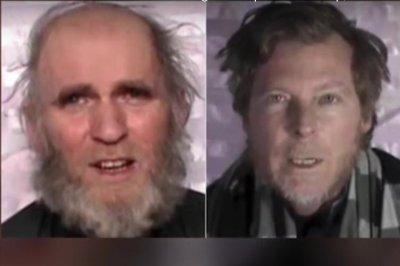 Taliban frees U.S., Australian professors after 3 years in captivity