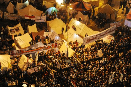 Opposition leaders join anti-Morsi protest