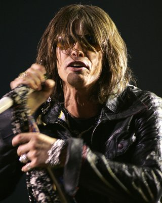 Aerosmith's Tyler falls off stage