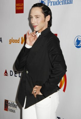 There is one thing Johnny Weir cannot wear on-air
