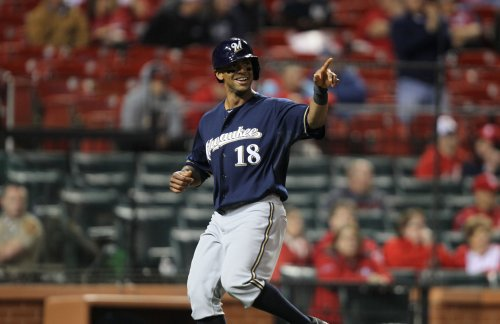 Brewers rise over Pirates