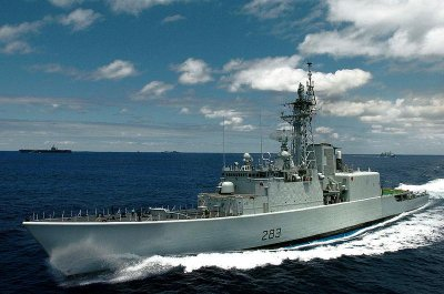 Canada decides to retire two guided missile destroyers