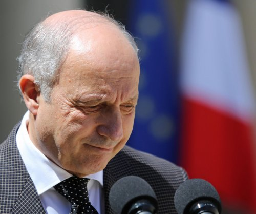 French Foreign Minister Laurent Fabius announces resignation