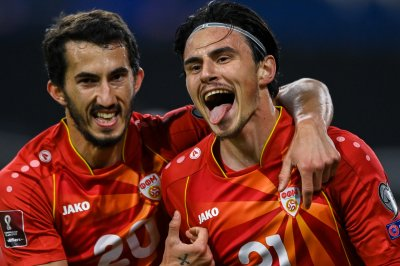 Soccer: North Macedonia upsets Germany in World Cup qualifier