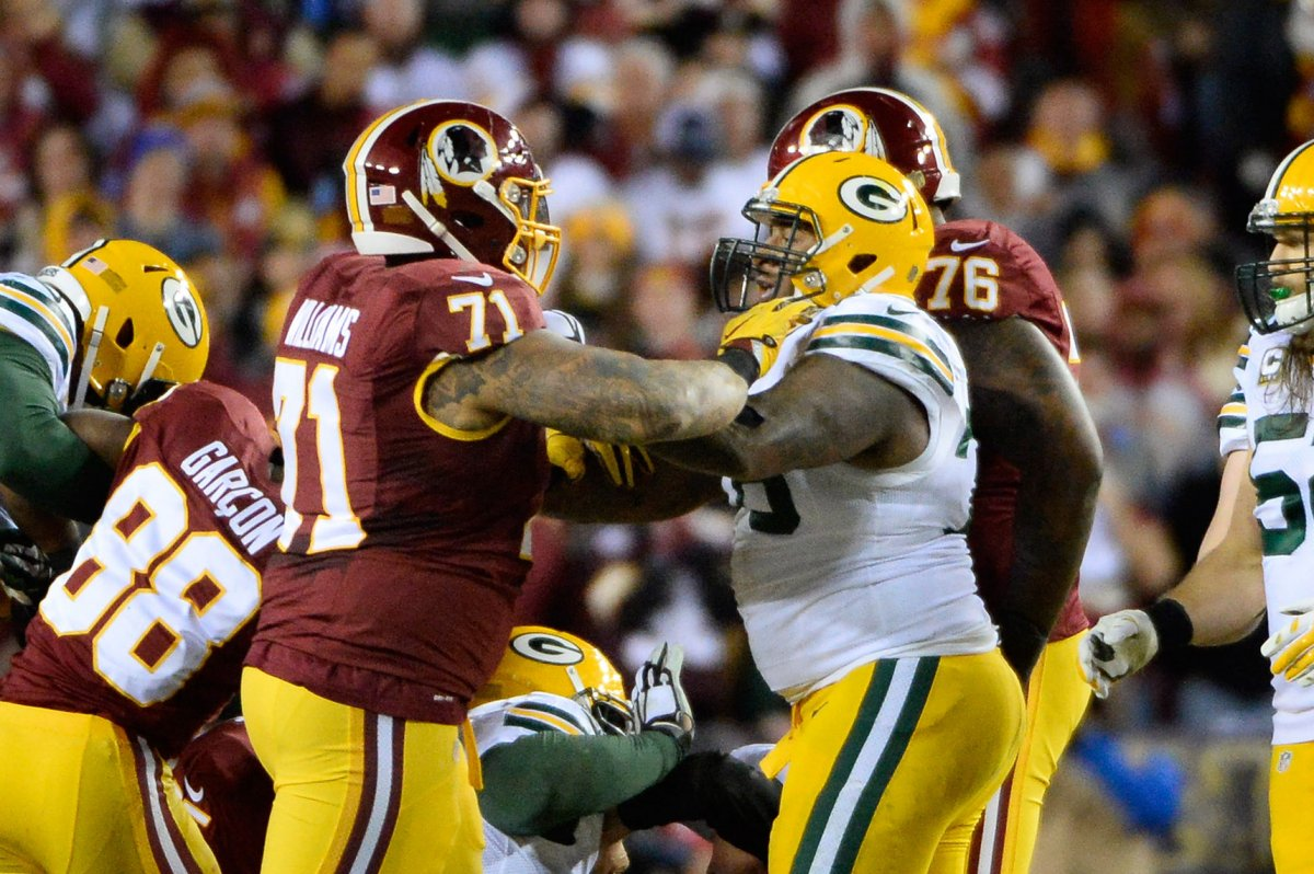 Trent Williams suspension hurts Washington Redskins UPI