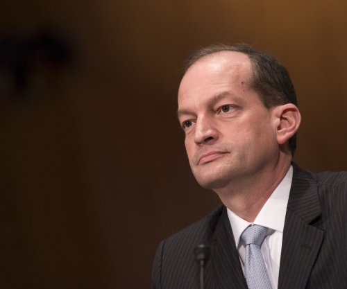 Labor nominee Acosta defends decisions, philosophy in confirmation hearing