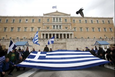 Thousands of Greeks protest Macedonia naming negotiations