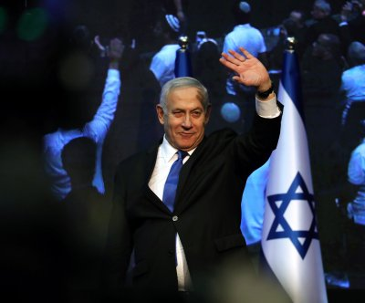 Netanyahu, Gantz square off again as Israel re-runs election