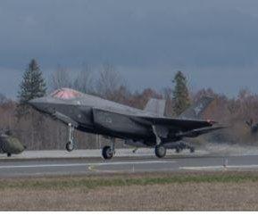 NATO fighter planes intercept Russian aircraft over Baltic Sea