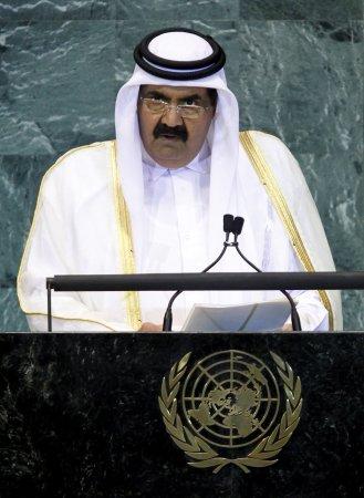 Qatar Emir's Gaza visit boosts Hamas