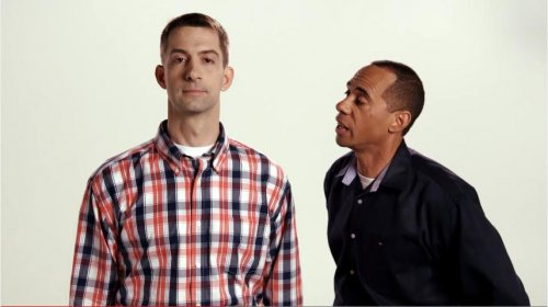 Tom Cotton 'at ease' with drill sergeant in ad against Sen. Pryor