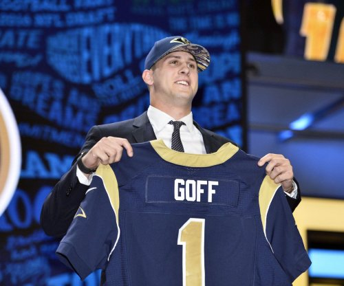 Los Angeles Rams: Jared Goff progressing; Nick Foles absent at OTAs