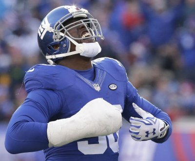 New York Giants DE Jason Pierre-Paul: 'My hand feels great'