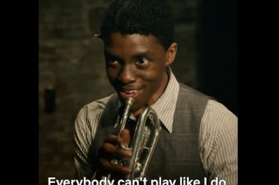 'Ma Rainey's Black Bottom': Chadwick Boseman plays trumpeter in Netflix scene
