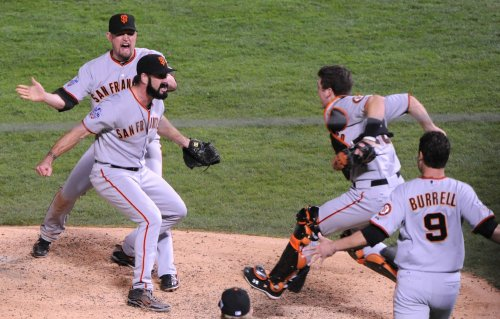 MLB: San Francisco 3, Texas 1