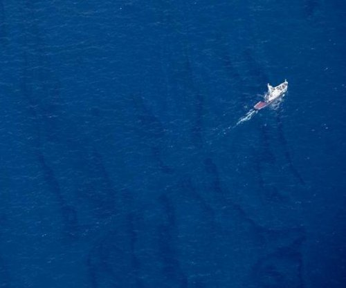 Sheen spreading from Chinese site of Iranian oil tanker sinking