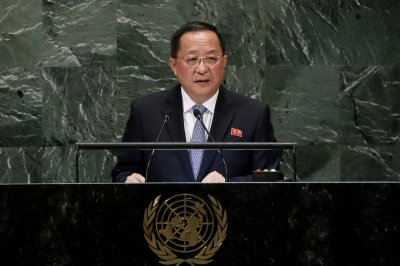 Ri Yong Ho calls for end to mistrust, repeal of North Korea sanctions