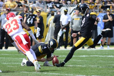 Pittsburgh Steelers reportedly sticking with kicker Chris Boswell