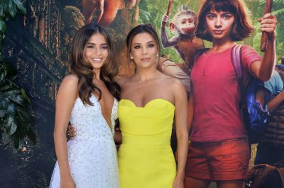 Eva Longoria says her maternal instincts went 'bonkers' on 'Dora' set