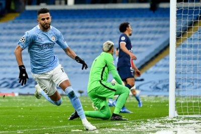 Champions League soccer: Manchester City beats PSG to reach first final
