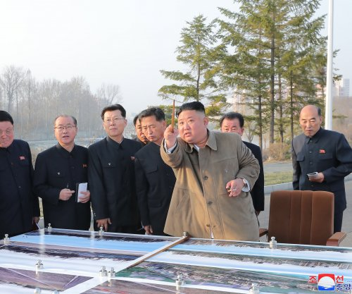 North Korea's premier inspects apartment construction in Pyongyang