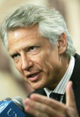 De Villepin says unaware of smear plot