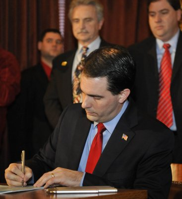 Wis. Gov. Scott Walker recall petitions filed