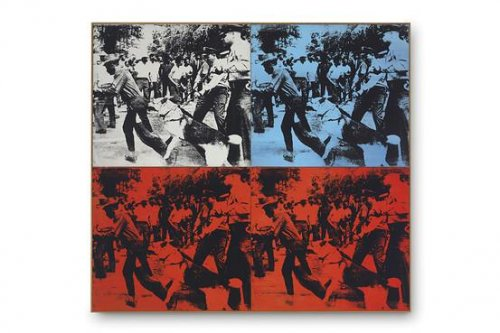 Andy Warhol works sell for $100 million at auction