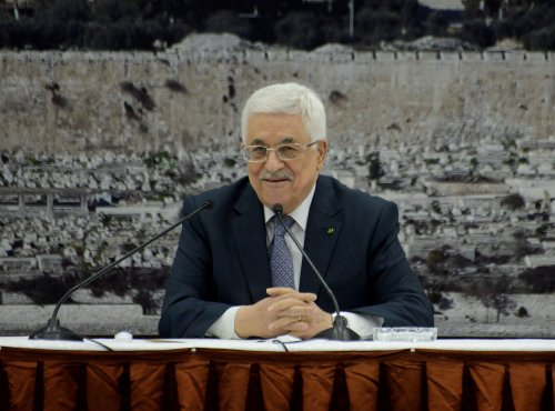 Mahmoud Abbas asks U.N. for timetable for Israeli withdrawal