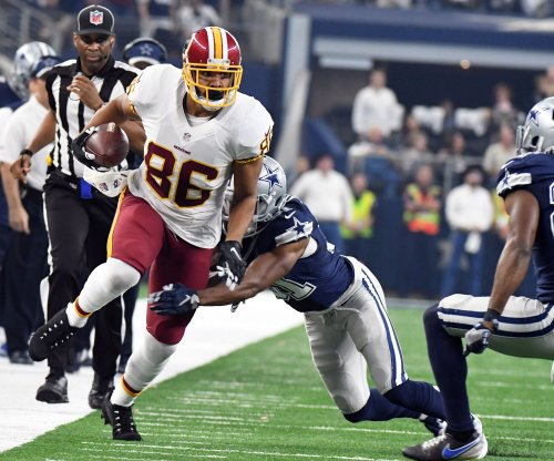 Washington Redskins' Jay Gruden expects Jordan Reed, Josh Doctson to step up