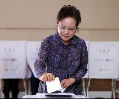 Exit poll: Ruling party overwhelmingly wins South Korea elections