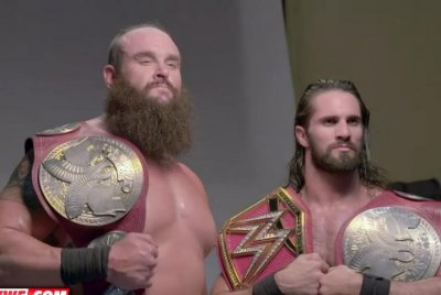 WWE Raw: Seth Rollins, Braun Strowman become Tag Team Champions