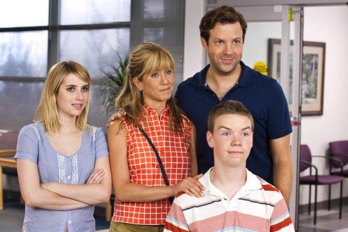 Aniston, Sudeikis talk about becoming a family for 'Millers'
