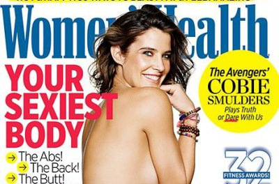 Cobie Smulders talks going topless for Women's Health