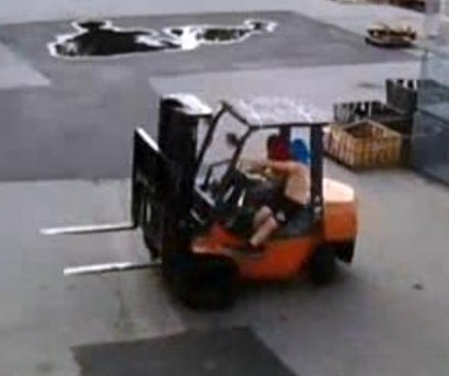 Florida foursome facing felonies for forklift foolery