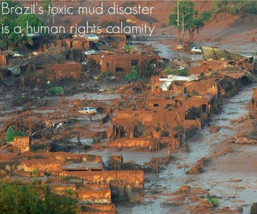 U.N. report: Toxic waste spread after Brazilian mine disaster