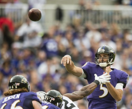 Baltimore Ravens' Joe Flacco not getting the protection he needs
