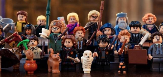 FREE POST LEGO Harry Potter Collectable Minifigures COMPLETE SET of 22