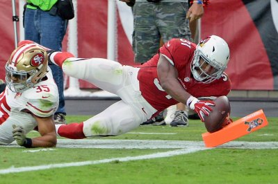 Arizona Cardinals RB David Johnson reports to training camp