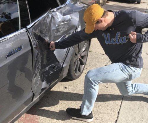 Arizona Cardinals' Josh Rosen crashes Tesla, 'OK' after accident